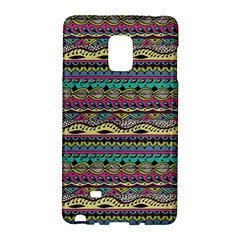 Aztec Pattern Cool Colors Galaxy Note Edge