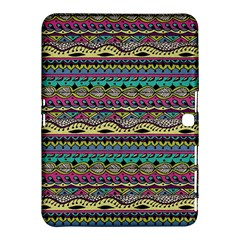 Aztec Pattern Cool Colors Samsung Galaxy Tab 4 (10.1 ) Hardshell Case