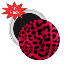 Leopard Skin 2 25  Magnets (10 Pack)