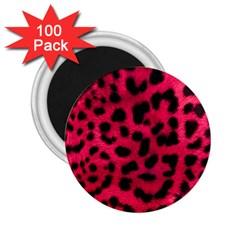 Leopard Skin 2 25  Magnets (100 Pack)