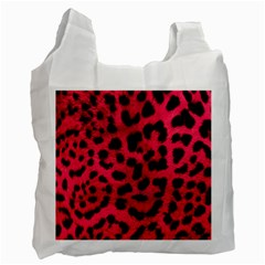 Leopard Skin Recycle Bag (Two Side)