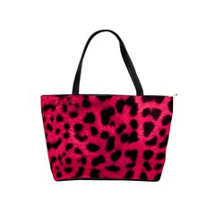 Leopard Skin Shoulder Handbags