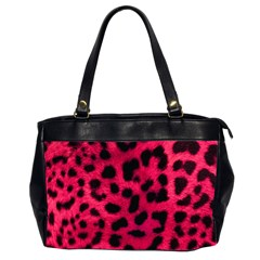 Leopard Skin Office Handbags (2 Sides)