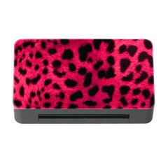 Leopard Skin Memory Card Reader With Cf