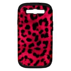 Leopard Skin Samsung Galaxy S III Hardshell Case (PC+Silicone)