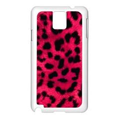 Leopard Skin Samsung Galaxy Note 3 N9005 Case (White)