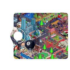 Pixel Art City Kindle Fire Hdx 8 9  Flip 360 Case