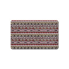 Aztec Pattern Patterns Magnet (name Card)