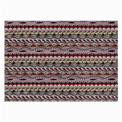 Aztec Pattern Patterns Large Glasses Cloth (2-Side)