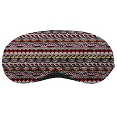 Aztec Pattern Patterns Sleeping Masks