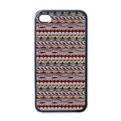 Aztec Pattern Patterns Apple Iphone 4 Case (black)