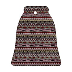Aztec Pattern Patterns Bell Ornament (Two Sides)