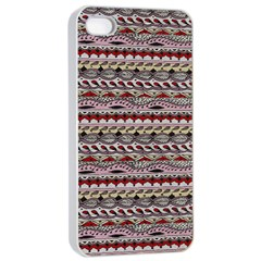 Aztec Pattern Patterns Apple Iphone 4/4s Seamless Case (white)