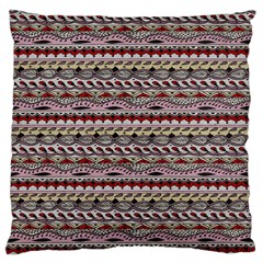 Aztec Pattern Patterns Large Cushion Case (Two Sides)