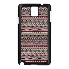 Aztec Pattern Patterns Samsung Galaxy Note 3 N9005 Case (black)