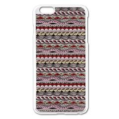 Aztec Pattern Patterns Apple Iphone 6 Plus/6s Plus Enamel White Case