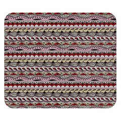 Aztec Pattern Patterns Double Sided Flano Blanket (small)