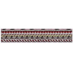 Aztec Pattern Patterns Flano Scarf (Large)