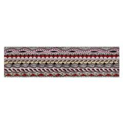 Aztec Pattern Patterns Satin Scarf (oblong)