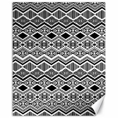 Aztec Design  Pattern Canvas 16  X 20