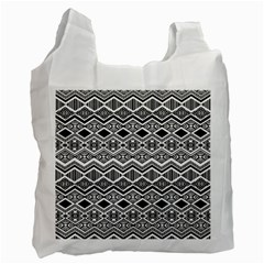 Aztec Design  Pattern Recycle Bag (two Side)