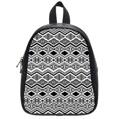 Aztec Design  Pattern School Bags (small)