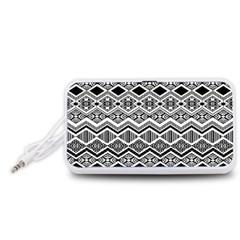 Aztec Design  Pattern Portable Speaker (white)