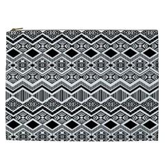 Aztec Design  Pattern Cosmetic Bag (XXL)