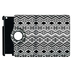 Aztec Design  Pattern Apple iPad 2 Flip 360 Case