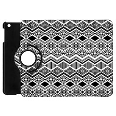 Aztec Design  Pattern Apple Ipad Mini Flip 360 Case