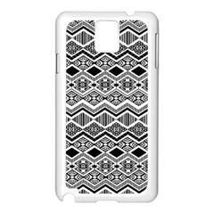 Aztec Design  Pattern Samsung Galaxy Note 3 N9005 Case (white)