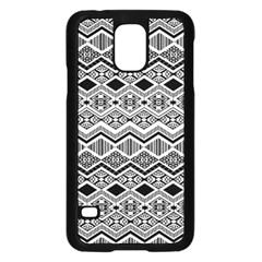 Aztec Design  Pattern Samsung Galaxy S5 Case (Black)