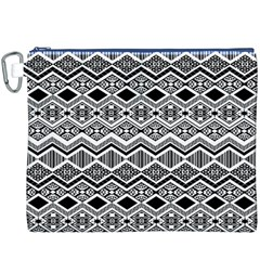 Aztec Design  Pattern Canvas Cosmetic Bag (XXXL)