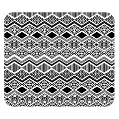Aztec Design  Pattern Double Sided Flano Blanket (Small)