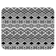 Aztec Design  Pattern Double Sided Flano Blanket (Medium)