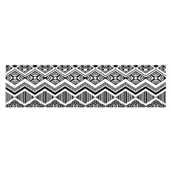 Aztec Design  Pattern Satin Scarf (oblong)