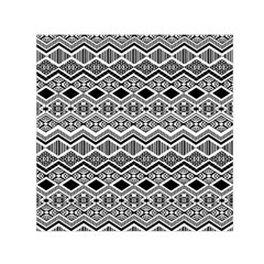 Aztec Design  Pattern Small Satin Scarf (square)