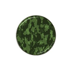 Camouflage Green Army Texture Hat Clip Ball Marker (4 pack)