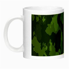 Camouflage Green Army Texture Night Luminous Mugs