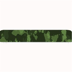 Camouflage Green Army Texture Small Bar Mats
