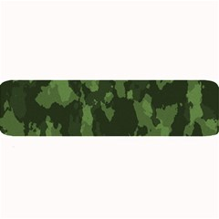 Camouflage Green Army Texture Large Bar Mats