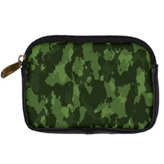 Camouflage Green Army Texture Digital Camera Cases
