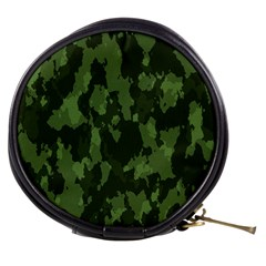 Camouflage Green Army Texture Mini Makeup Bags