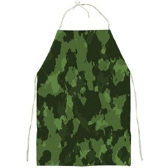 Camouflage Green Army Texture Full Print Aprons