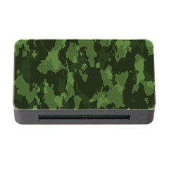 Camouflage Green Army Texture Memory Card Reader with CF