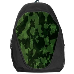 Camouflage Green Army Texture Backpack Bag