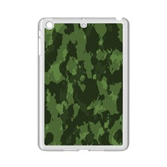 Camouflage Green Army Texture Ipad Mini 2 Enamel Coated Cases