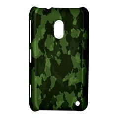 Camouflage Green Army Texture Nokia Lumia 620