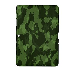 Camouflage Green Army Texture Samsung Galaxy Tab 2 (10 1 ) P5100 Hardshell Case