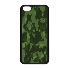 Camouflage Green Army Texture Apple Iphone 5c Seamless Case (black)